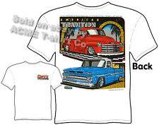 Truck Apparel 47 48 49 50 51 52 53 Chevy Pickup T Shirt 62-66 Sz M L XL 2XL 3XL