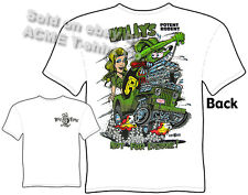 Willys Rat Fink T Shirt MB 4X4 Big Daddy Tee Potent Rodent Sz M L XL 2XL 3XL