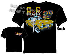 1955 Ford Racing T Shirt Vintage Drag Racing Shirts 55 Gasser Sz M L XL 2XL 3XL