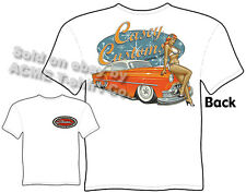 53 Chevy T Shirt 1953 Chevrolet Tee Custom Car Clothing Leadsled Pinup Girl Wear