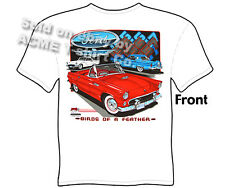 Thunderbird Ford T Shirt 55 56 57 Classic Car 1955 1956 1957 Sz M L XL 2XL 3XL