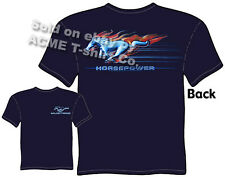Mustang T Shirts Ford Shirts Racing Mustang Apparel Emblem Logo Badge Horsepower