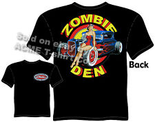 1930 1931 Hot Rod T Shirt Zombie Den 30 31 Ford Clothing Rat Rod Coupe Tee Pinup