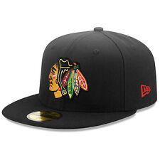 New Era Chicago Blackhawks Basic 59Fifty Black Fitted Cap