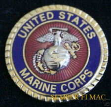 US MARINE CORPS SEAL HAT PIN EGA LOGO MARINES USMC DEVIL DOGS SEMPER FI EAGLE