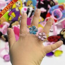 My Little Pony Crystal Pig Princess Mickey Minions Kids Ring Cartoon Rings Gifts