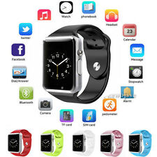GSM Bluetooth Wrist Smart Watch cell Phone For IOS iphone Android Sony Samsung