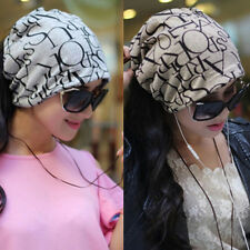 Fashion Unisex Women Men Winter Ski Hat Baggy Hip Hop Hairband Cap Headband