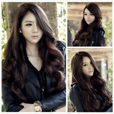 Womens' Long Curly Wavy Hair Full Wigs Lady Party Wig Cosplay Costume Wig HOT!!