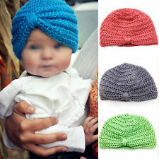 Fashion Comfy Baby Girls Boys Infant Toddler Knit Crochet Cap Soft Beanie Hat ZW