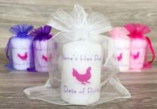 Hen Party Hen Do Personalised Candle Gift Large Favour Gift Keepsake