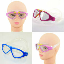 Kid Child Girls Waterproof Anti Fog UV Swimming Goggle Adjustable Size Glasses