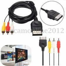 6ft Composite AV Audio Video Cable Cord Component Lead RCA For XBOX Classic 1