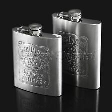7oz  8oz  Stainless Steel Pocket Liquor Whiskey Alcohol Wine Bottle Hip Flasks