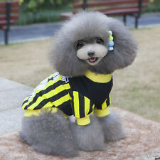 Pet Puppy Striped Shirt Summer Small Dog Cat Pet Clothes Costumes ApparelT-Shirt