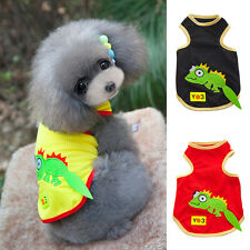 Puppy Pet Dog Vest Small Dog Summer Clothes Mesh T-shirt Apparel Costumes Jacket