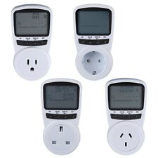 TS-1500 Electronic Energy Meter LCD Energy Monitor Plug-in Electricity Meter