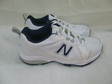 New Mens New Balance 608v3 Cross Training Shoes 4E Width MX608V3W WhiteNavy 22H