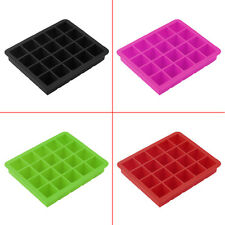 20-Cavity Large Cube Ice Pudding Jelly Maker Mold Mould Tray Silicone ToolNG