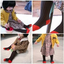 Toddler Infant Kids Girls Cotton Warm Pantyhose Socks Stockings Tights For 0-5Y