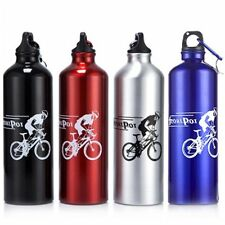 New Cycling Camping Bicycle Sports Aluminum Alloy Water Bottle 750ml Special BG