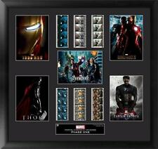 Marvel's Cinematic Universe Phase 1 Framed Mixed Film Cell Montage