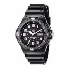 Waterproof Army Mens Silicone Resin Quartz Watch Water Resistant Date Watches