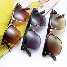 Fashion Retro Vintage Womens Mens Designer Oversized Sunglasses Glasses Hot? BN