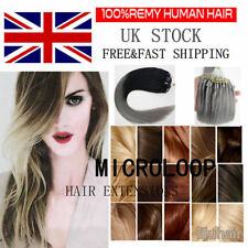 16-22inch 1g/strand Double Micro Ring Beads Human Hair Extensions Any Colors