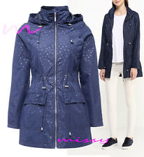 NEW WOMENS LADIES GIRLS RAIN MAC RAINCOAT PARKA FESTIVAL JACKET COAT SIZES 8-24M