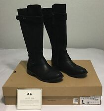 UGG Womens Dayle Tall Boots 1007671 Lodge Size 8, 9, 10 BLACK.. NEW!!