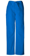 Scrubs Cherokee Workwear Men's Drawstring Cargo Pant Short 4100S ROYW Royal