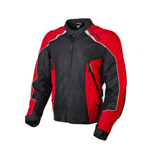 Scorpion Velocity Ascend Red Textile Motorcycle Riding Jacket