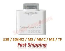 Camera Connection Kit 5in1 Card Reader USB SD TF MS MMC 8Pin 8P for iPad Air Pro