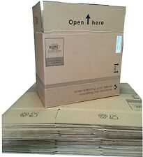 """Large Cardboard Boxes Storage Packing Posting House Moving Removal 19""""x11""""x15.5"""