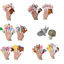Story Telling Finger Puppets Nursery Rhyme Fairy Tale Farm Yard Animals Cartoon