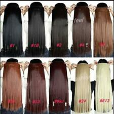 """One Piece Full Head Set Clip In Human Hair Extensions 20""""100g Hair Extension"""
