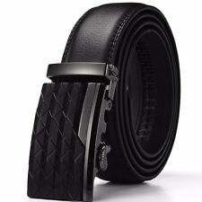 Fashion Automatic Buckle Mens Waistband Genuine Leather Waist Strap Belts