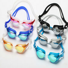 Adult Non-Fogging Swimming Goggles Swim Glasses Adjustable UV Protection 4 color