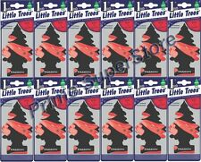Lot Of New 12 Pack Little Trees Air Freshener Passion Scent for Home Auto  / Car