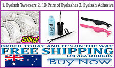 Eyelashes Tweezers, False Eyelashes & Lash Adhesive Glue Makeup Tools