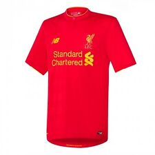 New Balance Liverpool  2016 - 2017 Home Soccer Jersey Brand New Red Kids - Youth