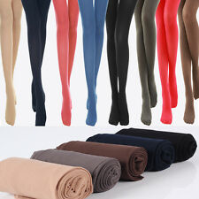 Fashion Womens Sexy Tights Semi Opaque Pantyhose Multicolor Stockings Hosiery CN