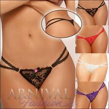 Hot lingerie G STRING THONG PANTIES INTIMATE underwear SEXY LACE PANTY nightwear