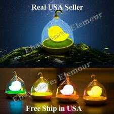 Rechargeable Dimmable Touch Control Portable Night Light Birdcage LED Lamp