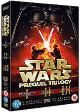 Star Wars - Prequel Trilogy (DVD, 2008, 6-Disc Set, In individual cases)