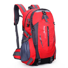 Unisex Multicolor outdoor climbing large capacity travel waterproof backpack bag