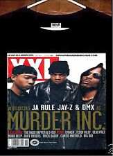Murder Inc T shirt; Jay Z Ja Rule DMX Murder Inc T shirt; Jay Z, DMX, JA RULE
