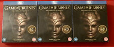 GAME OF THRONES THE COMPLETE SEASONS 1-5 BLU-RAY NEW & SEALED RRP £79.95 BARGAIN
