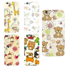 Cute Animal Bear Panda Giraffe lovely Style Soft TPU Cover case for IPhone 6S 6P